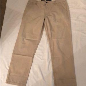 Hawkins McGill light khaki pants, weathered look!!